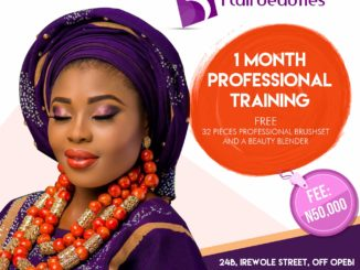Intensive 1 Month Make-up Training with Flairbeauties