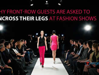 guests at fashion shows