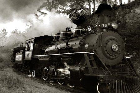 First Railway Locomotive Engine